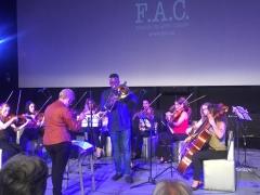 Camareta Romeu y Eduardo Sandoval en Concierto